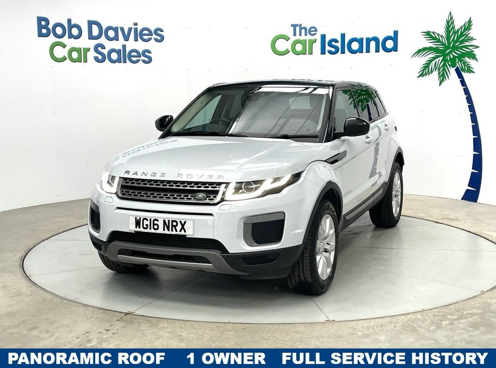 USED 2016 16 LAND ROVER RANGE ROVER EVOQUE 2.0 ED4 SE 5d 148 BHP Panoramic Roof Privacy Glass Leather 22000 miles