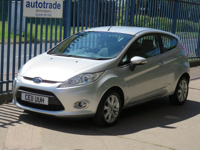USED 2011 11 FORD FIESTA 1.2 ZETEC 3dr 81 Bluetooth-Air conditioning-Fogs-Alloys-Electric windows Finance arranged Part exchange available Open 7 days