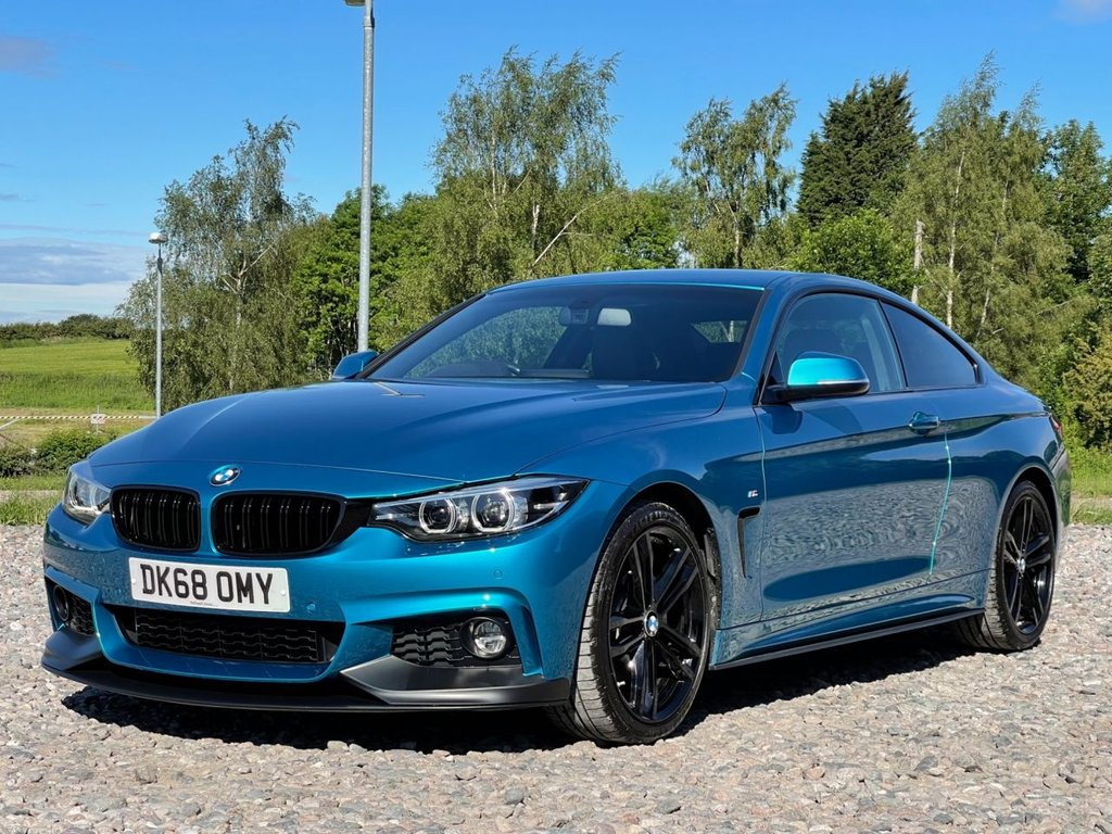 USED 2018 68 BMW 4 SERIES 2.0 420I M SPORT 2d 181 BHP Free Next Day Nationwide Delivery