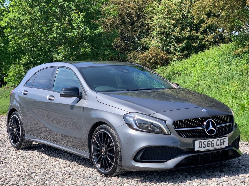 USED 2017 66 MERCEDES-BENZ A-CLASS 2.1 A 200 D AMG LINE PREMIUM 5d 134 BHP Free Next Day Nationwide Delivery
