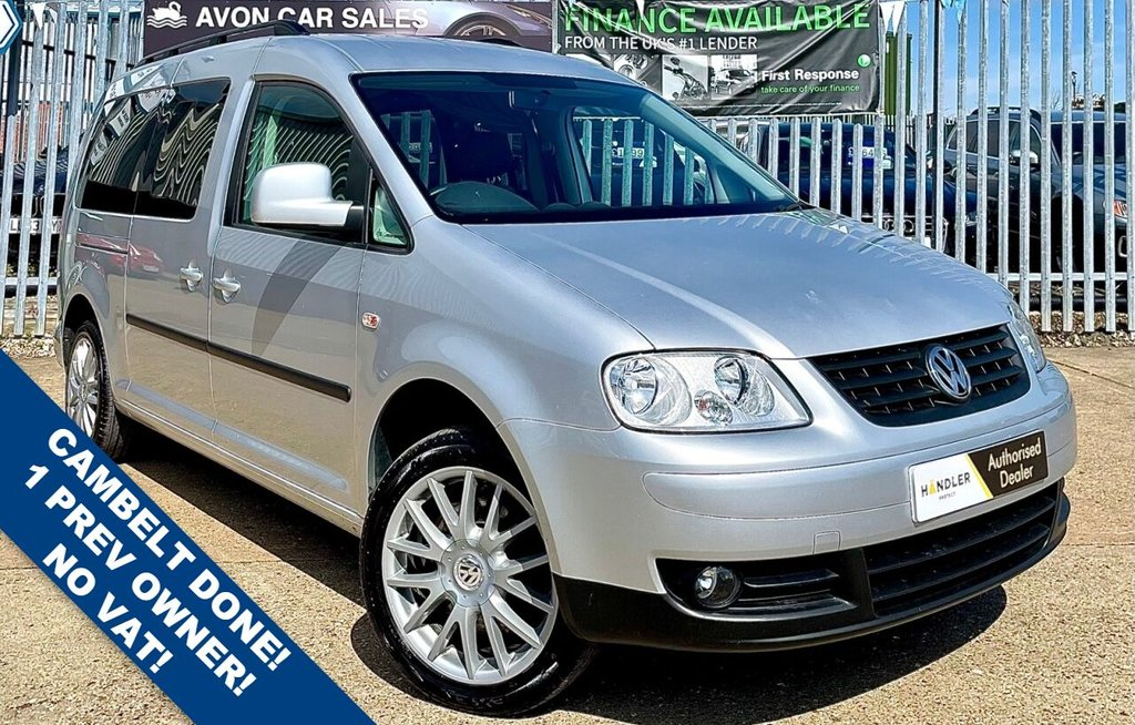 USED 2010 VOLKSWAGEN CADDY MAXI 1.9 LIFE TDI 5d 103 BHP CAMPER / DAY VAN! CAMBELT DONE! AIR CON! 2 PREV OWNER! COMP HISTORY! SAT NAV! BLUETOOTH! OPENING SIDE WINDOWS!
