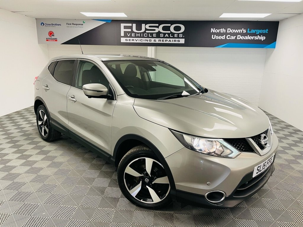 USED 2015 15 NISSAN QASHQAI 1.5 DCI N-TEC 5d 108 BHP NATIONWIDE DELIVERY AVAILABLE!