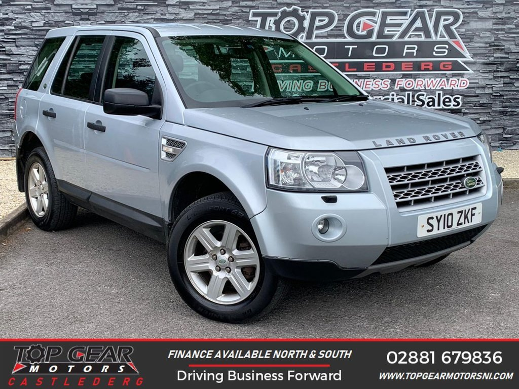USED 2010 10 LAND ROVER FREELANDER 2.2 TD4 E GS 5d 159 BHP ** PARKING SENSORS, CRUISE CONTROL, AIR CON ** OVER 100 VEHICLES IN STOCK