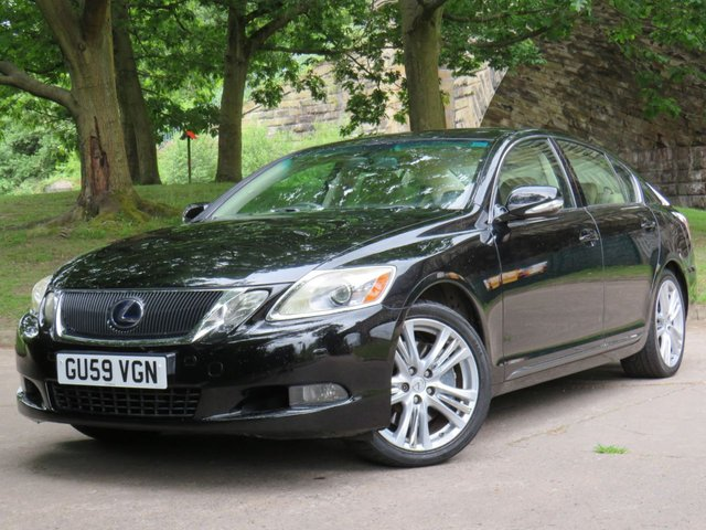USED 2009 59 LEXUS GS 3.5 450H 4d 345 BHP