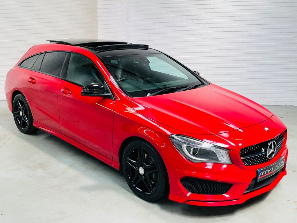 USED 2015 15 MERCEDES-BENZ CLA 2.1 CLA220 CDI AMG SPORT 5d 174 BHP AMG Night Pack|Glass Panoramic Roof|AA Passed|FINANCE