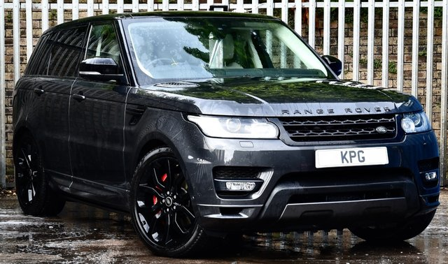 USED 2017 67 LAND ROVER RANGE ROVER SPORT 3.0 SD V6 Autobiography Dynamic CommandShift 2 4X4 (s/s) 5dr £9k Extra's, Rear Ent, D/Steps