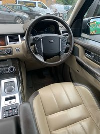 USED 2012 10 LAND ROVER RANGE ROVER SPORT 3.0L SDV6 AUTOBIOGRAPHY SPORT 5d AUTO 255 BHP