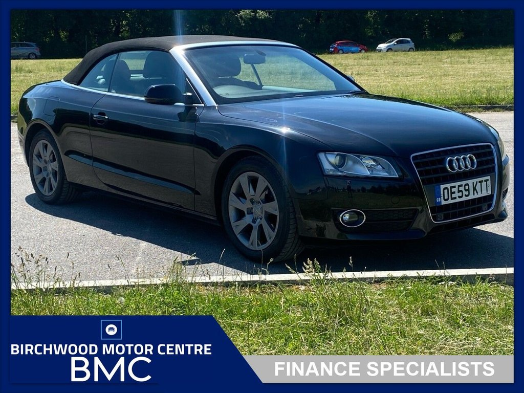 USED 2010 59 AUDI A5 2.0 TDI SE 2d 168 BHP. SERVICE HISTORY AVAILABLE!!! Audi A5 convertible.