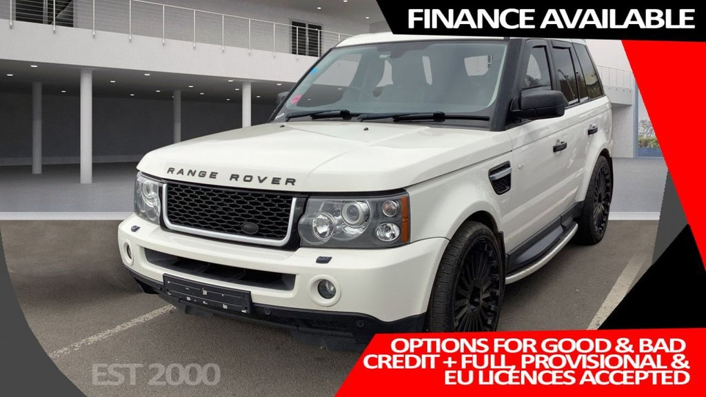 USED 2009 P LAND ROVER RANGE ROVER SPORT 2.7 TDV6 SPORT HSE 5d 188 BHP * PRIVACY  GLASS * PARKING SENSORS * CLIMATE CONTROL * 22 INCH ALLOY WHEELS * FRESH MOT*