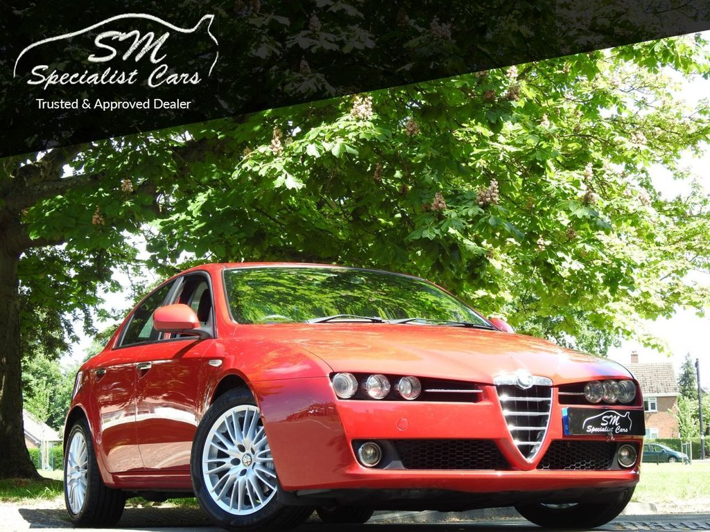 USED 2010 60 ALFA ROMEO 159 2.0 JTDM 16V LUSSO 4d 170 BHP ONLY 70K FROM NEW LEATHER VGC