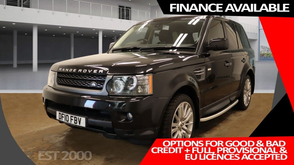 USED 2010 10 LAND ROVER RANGE ROVER SPORT 3.0 TDV6 HSE 5d 245 BHP * PRIVACY GLASS * PARKING SENSORS * CLIMATE CONTROL* NAVIGATION * 20 INCH ALLOYS *