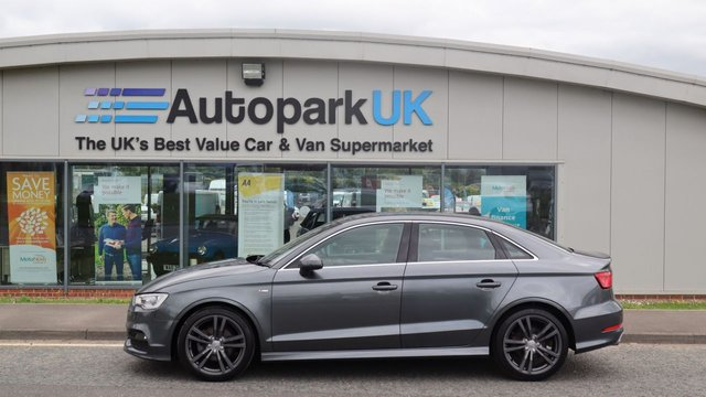 USED 2016 16 AUDI A3 2.0 TDI S LINE NAV 4d 148 BHP LOW DEPOSIT OR NO DEPOSIT FINANCE AVAILABLE . COMES USABILITY INSPECTED WITH 30 DAYS USABILITY WARRANTY + LOW COST 12 MONTHS ESSENTIALS WARRANTY AVAILABLE FROM ONLY £199 (VANS AND 4X4 £299) DETAILS ON REQUEST. ALWAYS DRIVING DOWN PRICES . BUY WITH CONFIDENCE . OVER 1000 GENUINE GREAT REVIEWS OVER ALL PLATFORMS FROM GOOD HONEST CUSTOMERS YOU CAN TRUST .