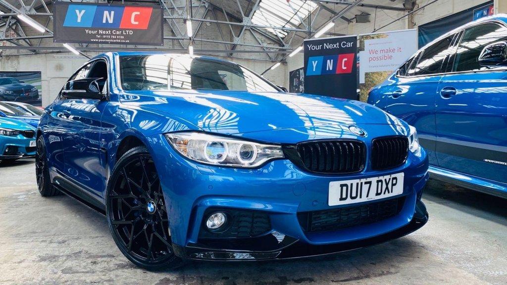 USED 2017 17 BMW 4 SERIES 2.0 420d M Sport Gran Coupe Auto (s/s) 5dr PERFORMANCEKIT+20S+PLUSPACK