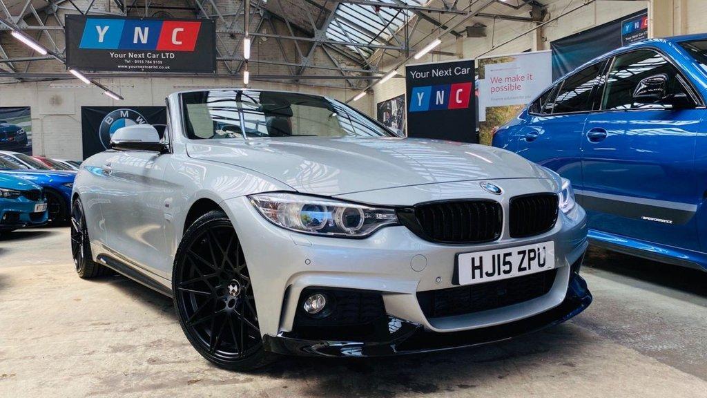 USED 2015 15 BMW 4 SERIES 2.0 420d M Sport Auto 2dr PERFORMANCEKIT+COMFORTPACK+20S