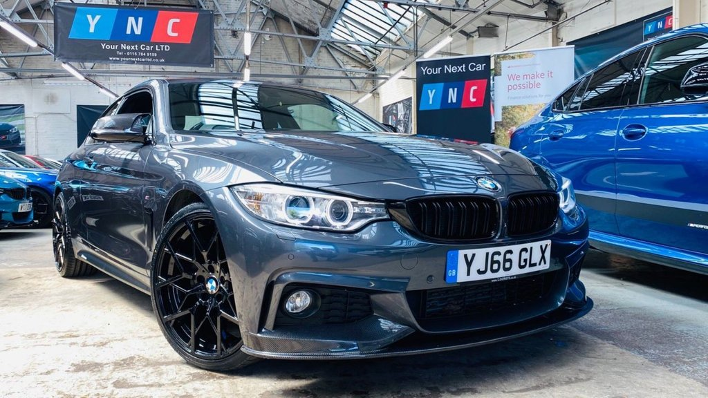 USED 2017 66 BMW 4 SERIES 2.0 420d M Sport 2dr PERFORMANCEKIT+20S+CARBONEXTRS
