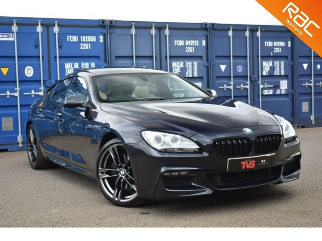 USED 2013 13 BMW 6 SERIES 3.0 640D M SPORT GRAN COUPE 4d 309 BHP
