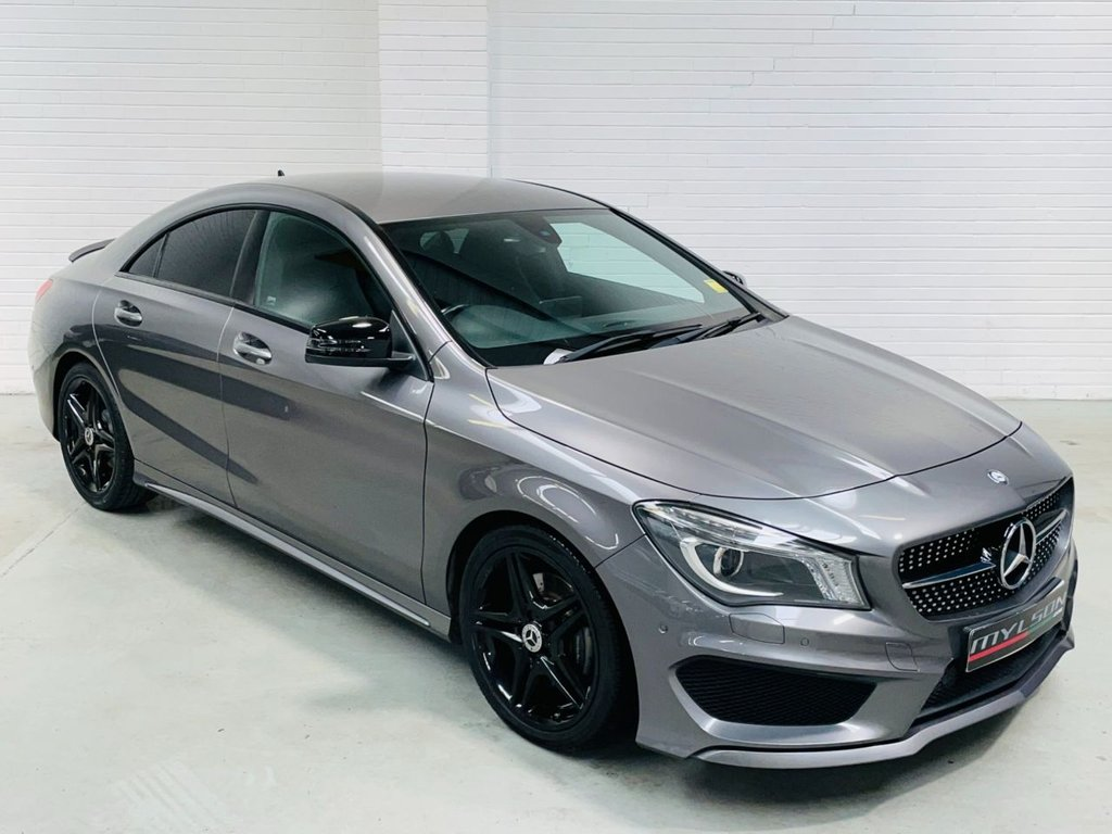 USED 2015 15 MERCEDES-BENZ CLA 1.6 CLA180 AMG SPORT 4d 122 BHP AMG Pack Night Pack Tints ULEZ Free AA Passed FINANCE