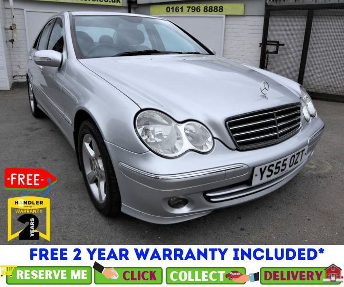 USED 2006 55 MERCEDES-BENZ C-CLASS 2.1 C220 CDI AVANTGARDE SE 4d 148 BHP *CLICK & COLLECT OR DELIVERY *