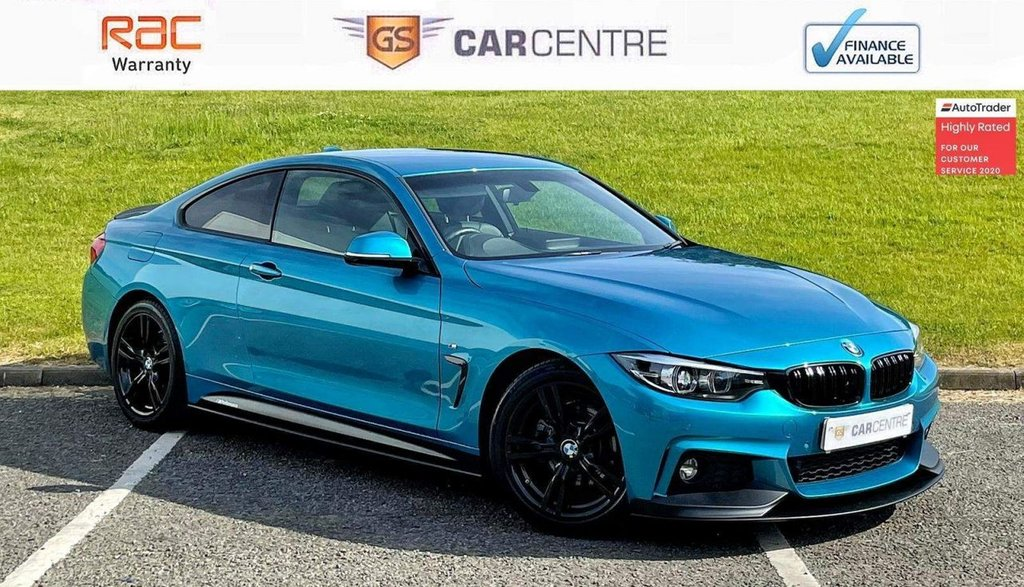 USED 2018 68 BMW 4 SERIES 2.0 420d M Sport Auto (s/s) 2dr *7.9% APR Finance Available*