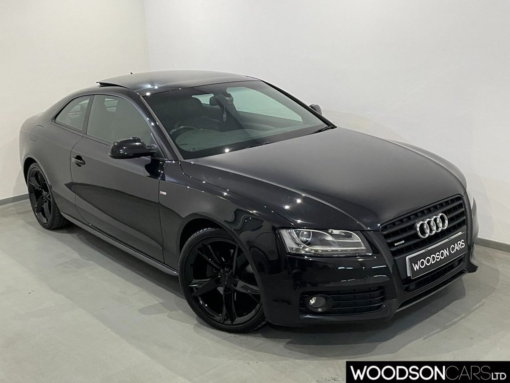 USED 2010 10 AUDI A5 3.0 TDI QUATTRO S LINE SPECIAL EDITION 2d 240 BHP Panoramic Roof / Sat Nav / DAB Radio / Electric Memory Heated Seats / Heated Leather