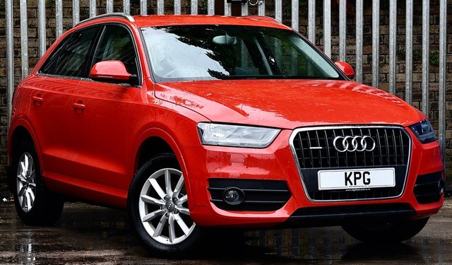 USED 2013 63 AUDI Q3 2.0 TFSI SE S Tronic quattro 5dr £28k New, 1 Owner, F/A/S/H