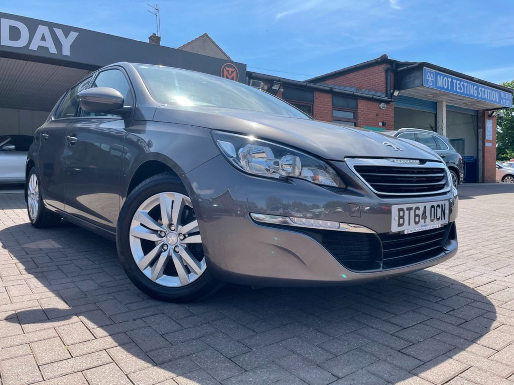 USED 2014 64 PEUGEOT 308 1.6 THP ACTIVE 5d 125 BHP