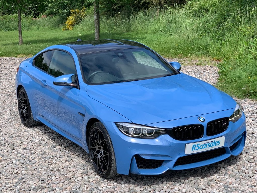 USED 2018 M BMW M4 3.0 M4 COMPETITION PACKAGE 2d 444 BHP Free Next Day Nationwide Delivery