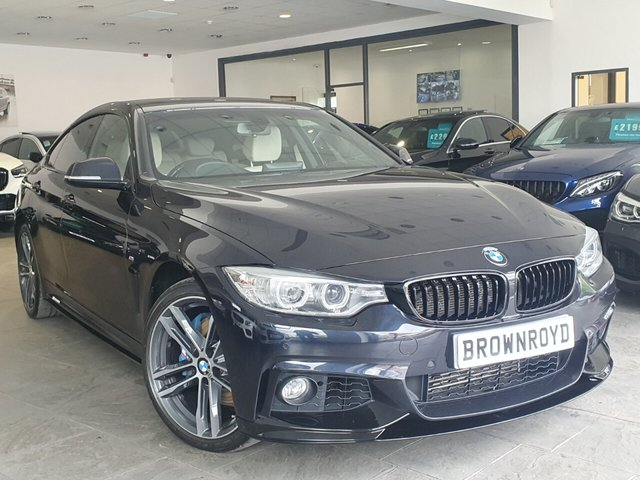 USED 2015 15 BMW 4 SERIES GRAN COUPE 3.0 435D XDRIVE M SPORT GRAN COUPE 4d 309 BHP BM PERFORMANCE STYLING+7.9%APR