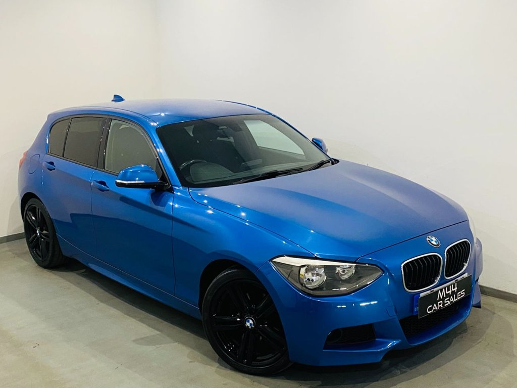 USED 2013 13 BMW 1 SERIES 2.0 120D XDRIVE M SPORT 5d 181 BHP New Timing Chain / New Clutch and Fly / Bluetooth / Cruise Control / Alloy Wheels