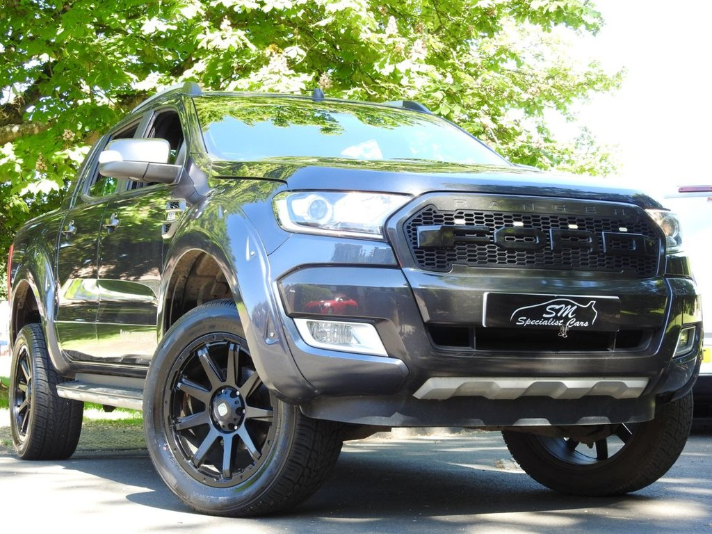 USED 2016 16 FORD RANGER 3.2 WILDTRAK 4X4 DCB TDCI 4d 197 BHP ONLY 60K WIDEARCH HAWKE ALLOYS