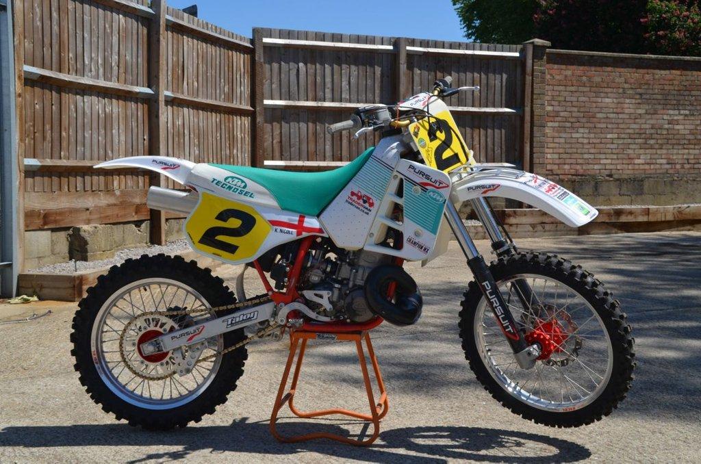 USED 1992 KTM MX 1992 KTM500 MX Classic Motocross Kurt Nicoll Works Replica Own a piece of motocross history