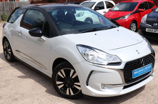USED 2016 16 DS DS 3 1.2 PURETECH CHIC 3d 80 BHP * BUY ONLINE * FREE NATIONWIDE DELIVERY *
