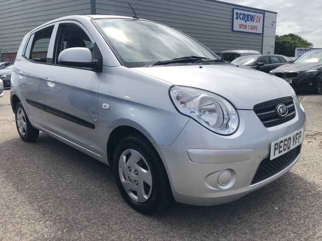 USED 2010 60 KIA PICANTO 1.0 1 5d 61 BHP FINANCE ARRANGED**PART EXCHANGE WELCOME**1 OWNER*£30 TAX*ONLY 21000 MILES*CD PLAYER*AUX*ELEC F WINDOWS