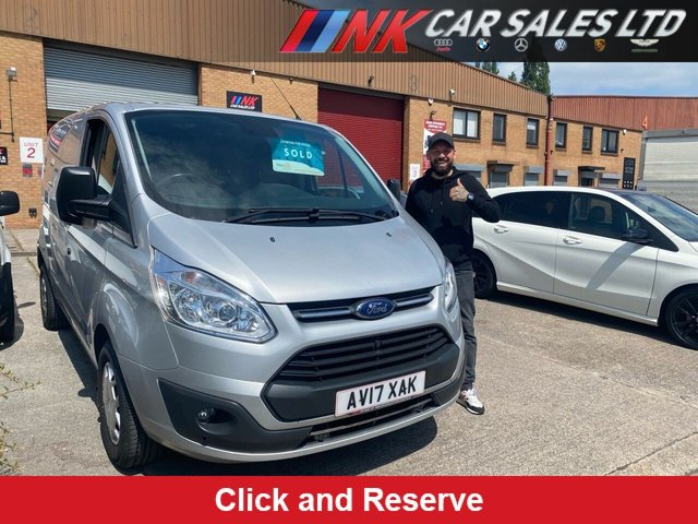2017 17 FORD TRANSIT CUSTOM 2.0 290 TREND LR P/V 104 BHP PRICE IS PLUS VAT AIR CON CRUISE CONTROL  SOLD TO MIDDLEWOOD CARPETS
