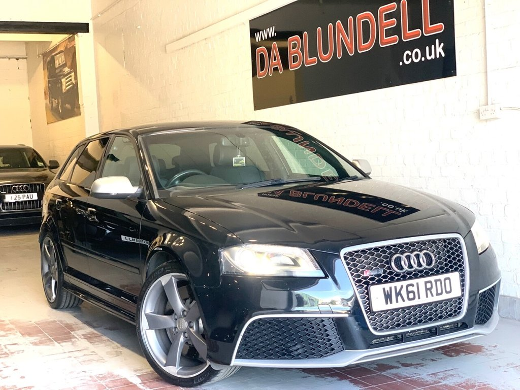 USED 2011 61 AUDI A3 2.5 RS3 QUATTRO 5d 340 BHP EXCLUSIVE LEATHER PK+BOSE+FASH