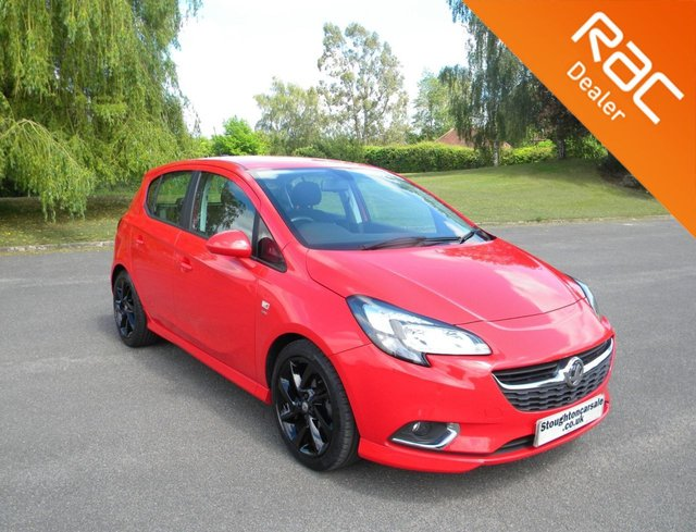 USED 2017 17 VAUXHALL CORSA 1.4 SRI VX-LINE ECOFLEX 5d 89 BHP BY APPOINTMENT ONLY - Apple Car Play/Android Auto, Alloy Wheels, Cruise Control, Touch Screen Radio, DAB