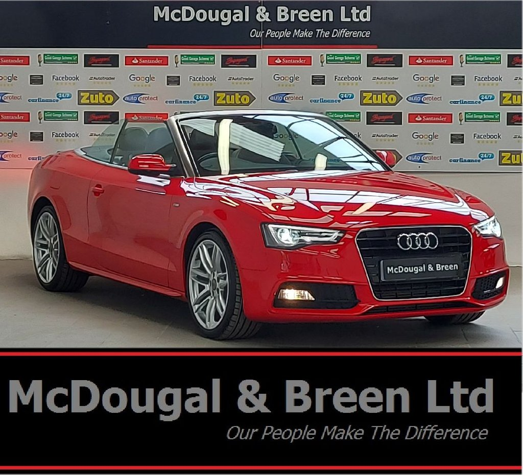 USED 2015 64 AUDI A5 2.0 TDI S LINE SPECIAL EDITION 2d 175 BHP