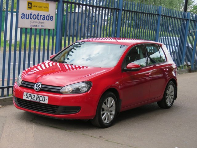 USED 2012 12 VOLKSWAGEN GOLF 1.6 MATCH TDI 5dr 103 Cruise-Bluetooth & audio-Parking sensors-Alloys-DAB Finance arranged Part exchange available Open 7 days