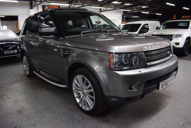 USED 2010 60 LAND ROVER RANGE ROVER SPORT 3.0 TDV6 HSE 5d 245 BHP FACELIFT 2010MY - LOVELY CONDITION -  7 SERVICES TO 93K - SUNROOF - SAT NAV - BLUETOOTH - FULL HEATED ELECTRIC LEATHER SEATS