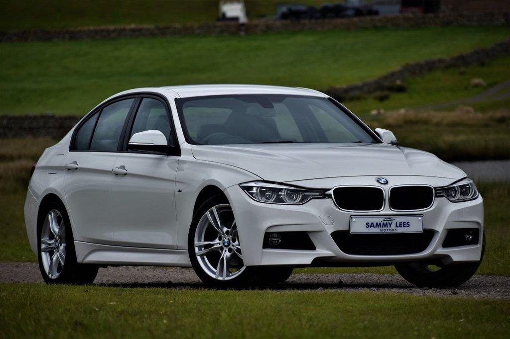 USED 2018 67 BMW 3 SERIES 2.0 320D M SPORT 4d AUTO 188 BHP