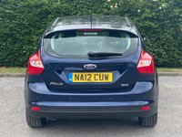 USED 2012 12 FORD FOCUS 1.6 ZETEC TDCI 5d 113 BHP * ONLY £20 A YEAR ROAD TAX * 12 MONTHS FREE AA MEMBERSHIP *