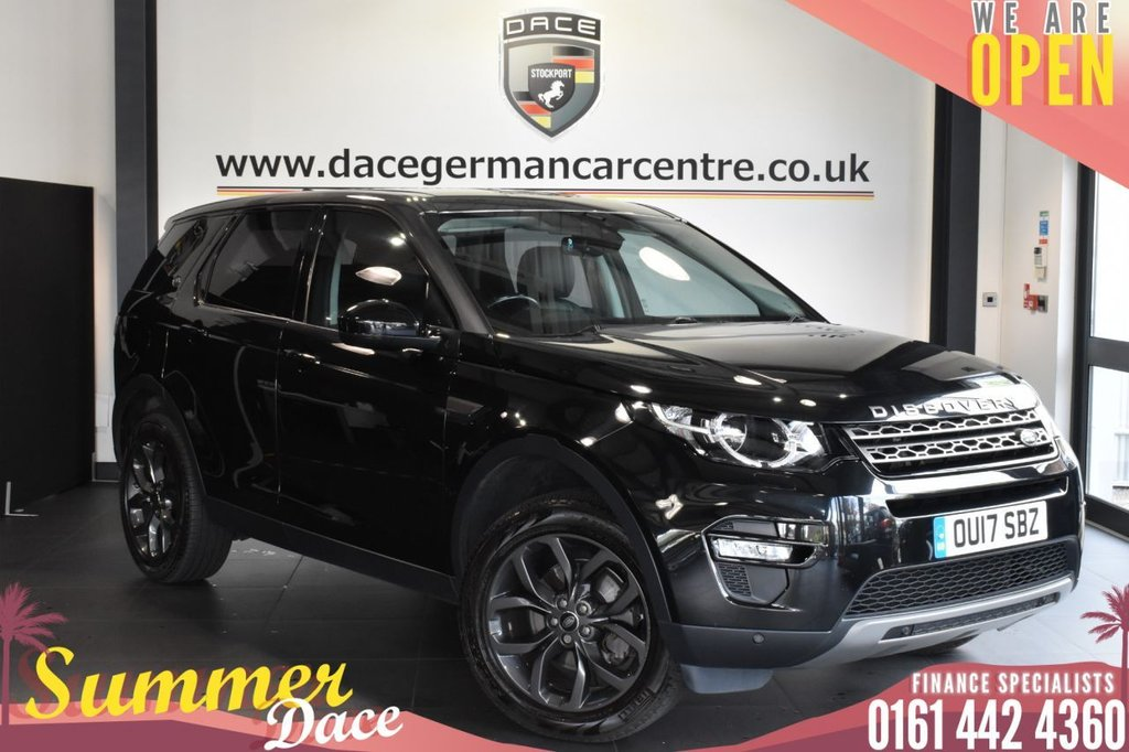 USED 2017 54 LAND ROVER DISCOVERY SPORT 2.0 TD4 SE TECH 5DR 180 BHP