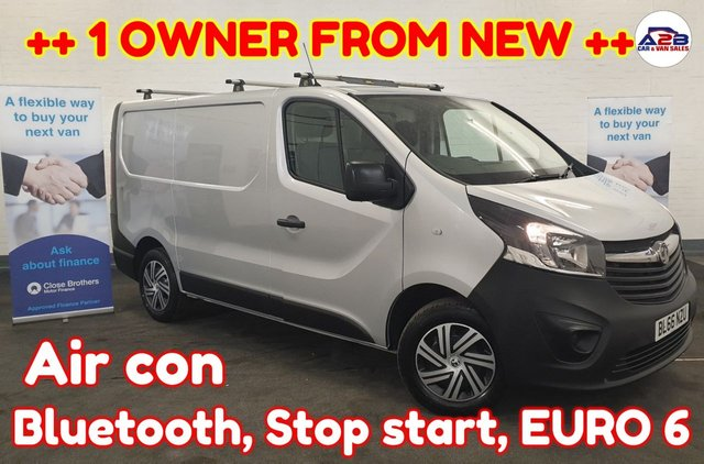 USED 2017 66 VAUXHALL VIVARO 1.6  2700 CDTI ++ UK DELIVERY ++ Bluetooth, Aircon, DAB, Stop start, Electric Windows, Electric Mirrors and much more ... ++ UK DELIVERY AVAILABLE ++
