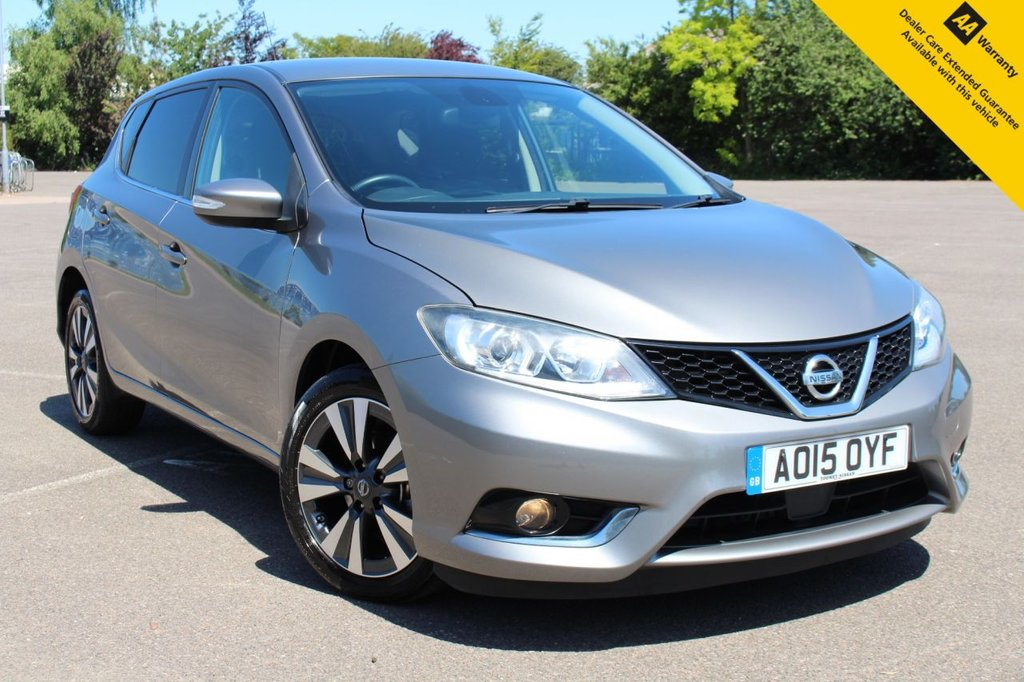 USED 2015 15 NISSAN PULSAR 1.2 N-TEC DIG-T XTRONIC 5d 115 BHP ** FRESHLY SERVICED + FRESH ADVISORY FREE MOT ** SAT NAV ** REAR PARKING CAMERA  ** BLUETOOTH ** CRUISE CONTROL ** LOW RATE AND DEPOSIT FINANCE AVAILABLE ** CLICK AND COLLECT + NATIONWIDE DELIVERY AVAILABLE ** BUY ONLINE IN CONFIDENCE FROM A MULTI AWARD WINNING 5* RATED DEALER ** 14 DAY MONEY BACK GUARANTEE **