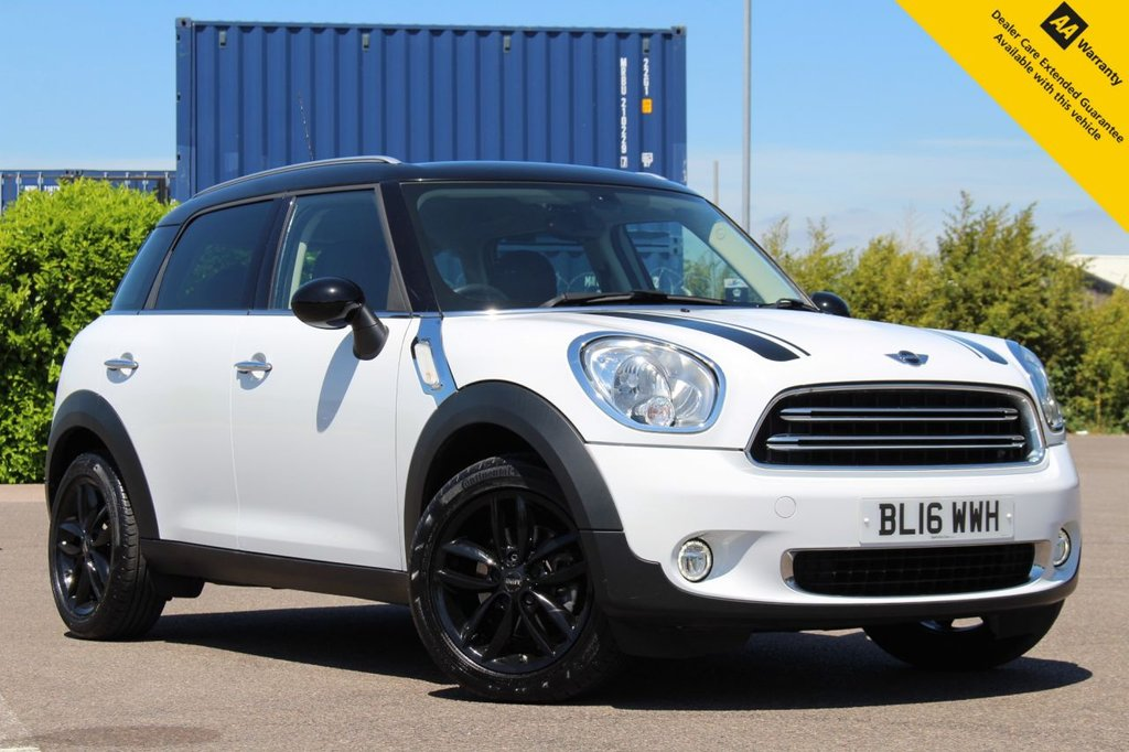 """USED 2016 16 MINI COUNTRYMAN 1.6 COOPER 5d 122 BHP ** WOW - OVER £4000 FACTORY OPTIONS - RARE CAR ** FULL SERVICE HISTORY ** FRESHLY SERVICED JUNE 2021 ** LONG MOT - JAN 2022 ** CHILLI PACK ** REAR PARKING AID ** UPGRADED ALLOYS ** UPGRADED CRUISE + BLUETOOTH ** UPGRADED AUTO LIGHTS + WIPERS + LIGHT PACKAGE ** UPGRADED SPORTS SEATS + SPORT BUTTON ** UPGRADED 17"""" TRACK BLACK ALLOYS + BONNET STRIPES & MIRROR CAPS IN BLACK ** UPGRADED STORAGE COMPARTMENT PACK + INTERIOR FINISHES ** ULEZ EXEMPT ** BUY ONLINE IN CONFIDENCE ** DELIVERY AVAILABLE **"""