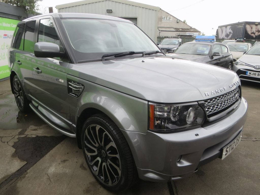 USED 2012 12 LAND ROVER RANGE ROVER SPORT 3.0 SDV6 HSE 5d 255 BHP * FINANCE AND UK DELIVERY AVAILABLE! *