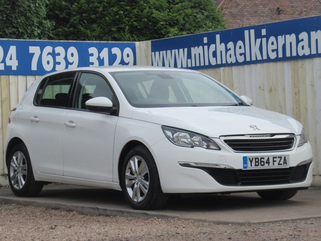 USED 2015 64 PEUGEOT 308 1.6 BLUE HDI ACTIVE 5d 120 BHP FULL PEUGEOT SERVICE HISTORY