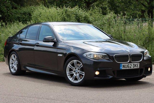 USED 2012 62 BMW 5 SERIES 2.0 520D M SPORT 4d 181 BHP