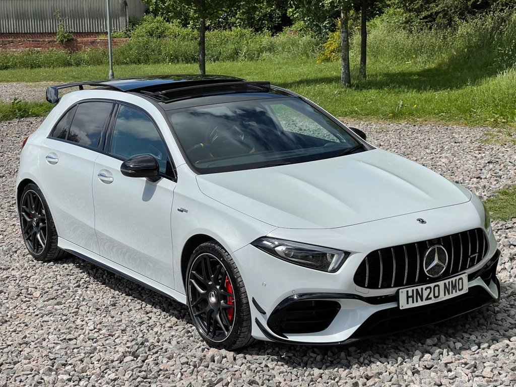 USED 2020 20 MERCEDES-BENZ A-CLASS 2.0 AMG A 45 S 4MATICPLUS PLUS 5d 416 BHP Free Next Day Nationwide Delivery