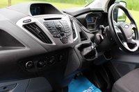 USED 2015 65 FORD TRANSIT CUSTOM 2.2 290 TREND LR P/V 124 BHP TREND - NO VAT - LONG WHEEL BASE -